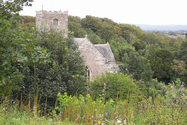 Church on Poet's Walk, Clevedon, Somerset, by Dave Reynolds