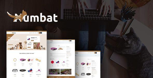 Numbat - Pet Shop WooCommerce WordPress Theme by modeltheme   ThemeForest
