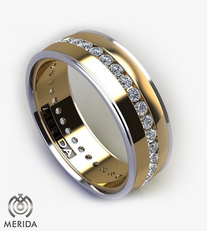 Design Your Own Unique Wedding Band Custom Men S Bands In Platinum And Gold Pinterest