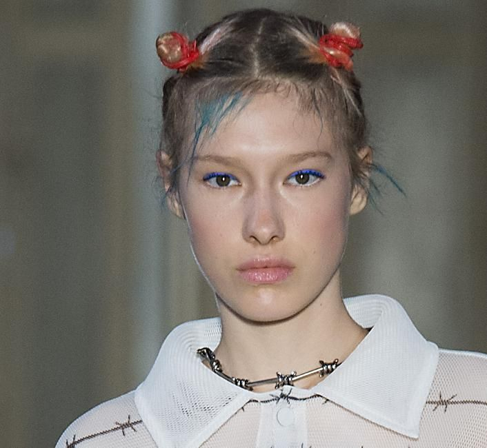 Colorful hair highlights – Get the runway look quick and easy
