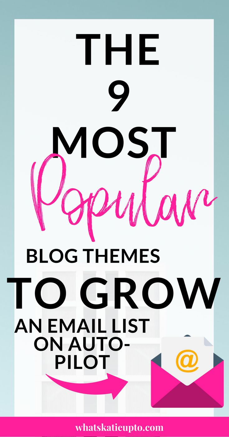 In this post you are going to figure out Why Blog Themes are the most important thing to grow an Email List! I love my theme so much and its really the secret to growing your Email List on Auto Pilot! DONT MISS OUT ON THIS!!! Its simple but so effective! GO READ THIS NOW, IT WILL BLOW YOUR MIND! how to grow email list, email list building, email list ideas, email list growth, blog themes wordpress, blog theme ideas, blog themes ideas inspiration, blog theme free, wordpress blog themes #theme