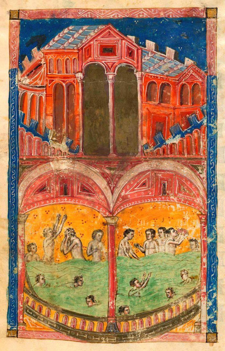 Bath, Pozzuoli, Astrumis | De balneis Puteolanis | Italy | ca. 1400 | The Morgan Library & Museum