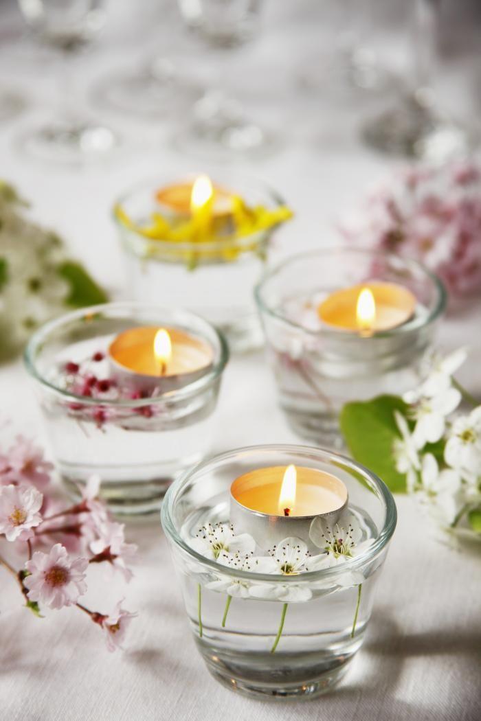 Communie - Dossier: Communie- en lentefeest - Tafeldecoratie voor een communie - Libelle