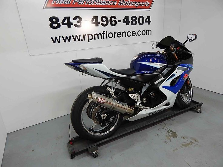 Used 2006 Suzuki GSX-R1000 Motorcycles For Sale in South Carolina,SC. 2006 SUZUKI GSX-R1000, 2006 Suzuki GSXR 1000 with 14000 miles. It has Yoshimura exhaust,chrome wheels,smoke windscreen,and new Michelin tires