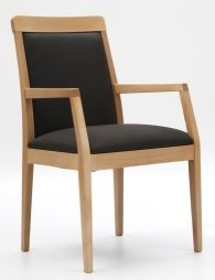 Canto Dining Chair is ideal for the care and residential market - also available as a armless chair