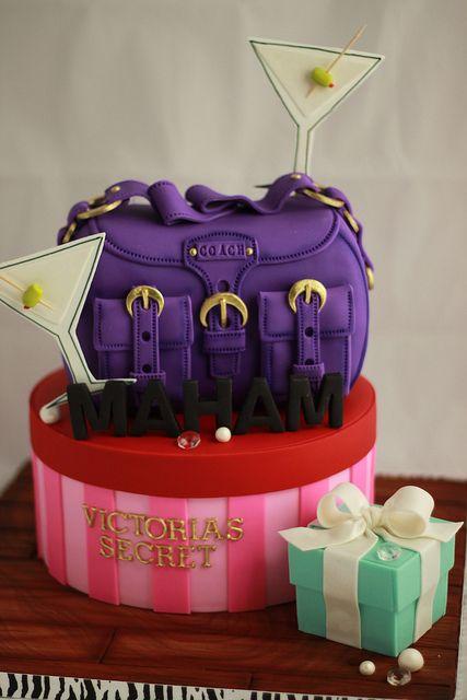 Shopaholic cake by Andrea's SweetCakes, via Flickr