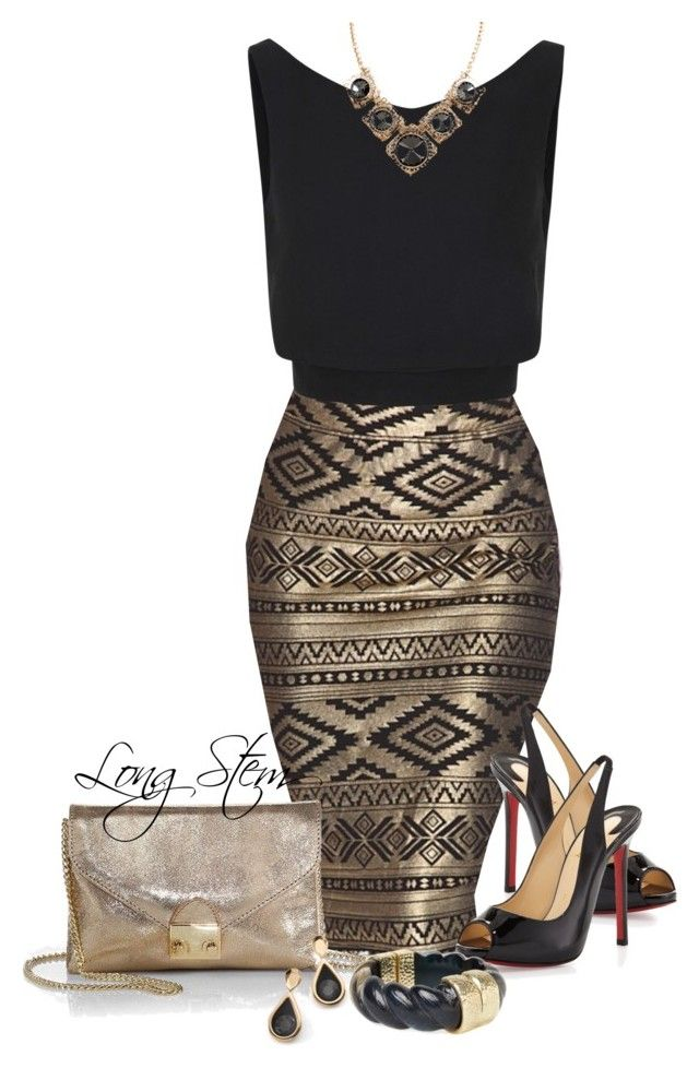 """5/22/14"" by longstem ❤ liked on Polyvore featuring McQ by Alexander McQueen, Christian Louboutin, Loeffler Randall and Moran Porat Jewelry"