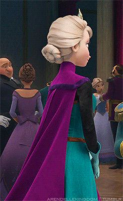 No matter if you are a frozen fan or not you need this on your profile