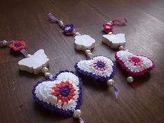 Creatief bezig: Zeepketting met gehaakt hart
