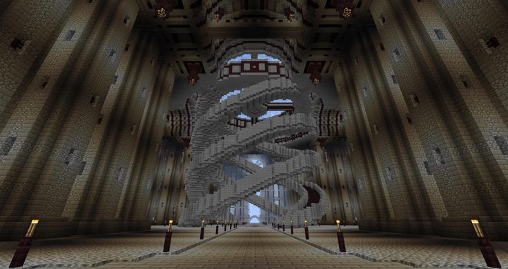 the interior of my castle so far | minecraft designs