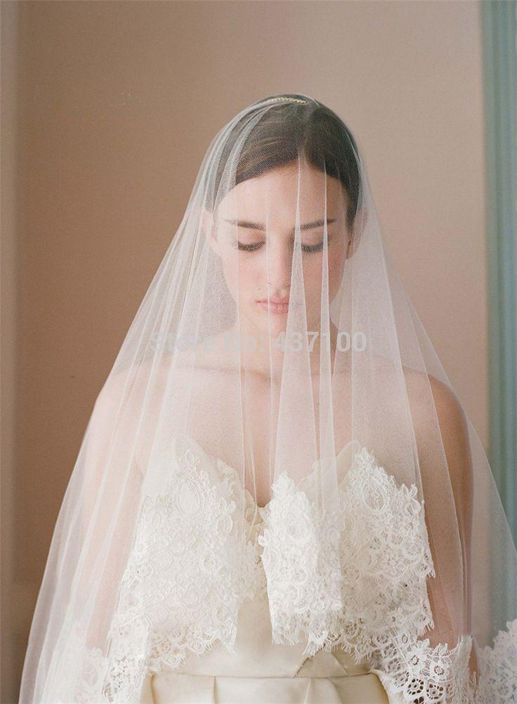 veils over the face Veu De Noiva New Arrival 2015 Lace Edge Wedding Bridal Veil Birdcage Veil Face Veil Wedding Accessories Veils 170cm*160cm, Aliexpress.com
