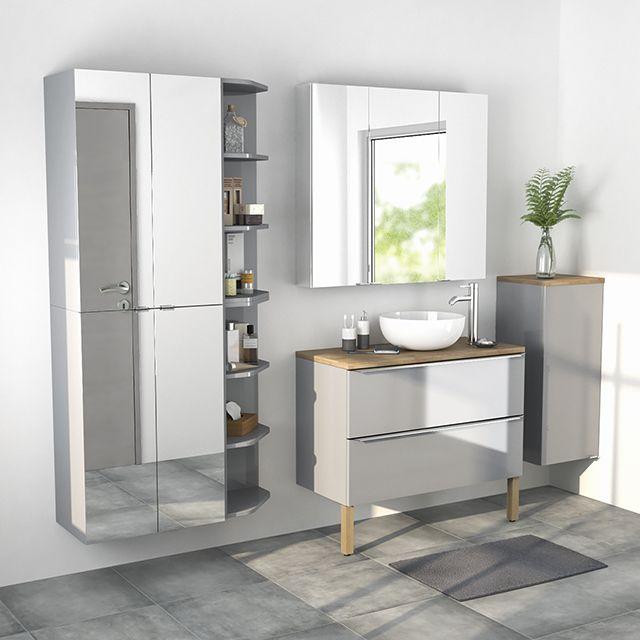 Top 25 best armoire salle de bain ideas on pinterest armoires blanches de - Armoire salle de bain castorama ...