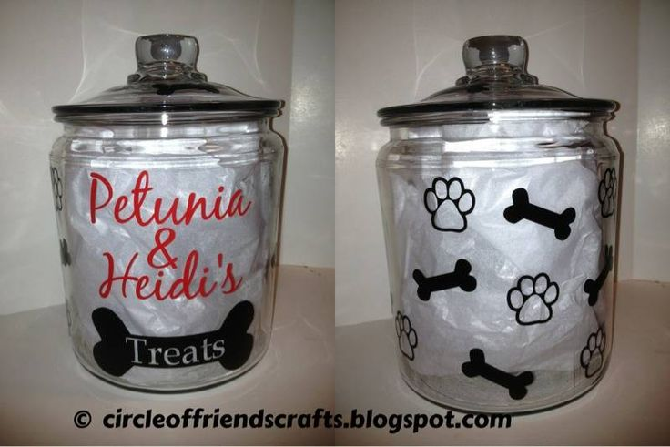 Photo on Circle of Friends Crafts: Dog Treat Container