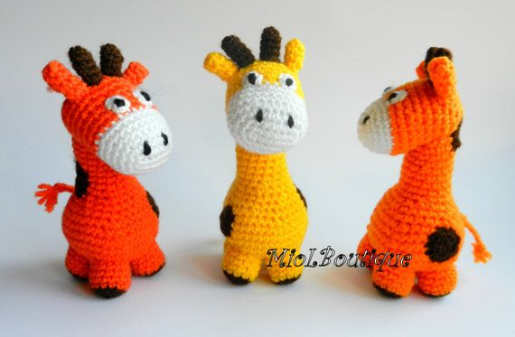Crochet baby toy, Teething baby toy,  Grasping and Teething Toys Eco-Friendly Giraffe, stuffed toys on Etsy, 353,43 Kč
