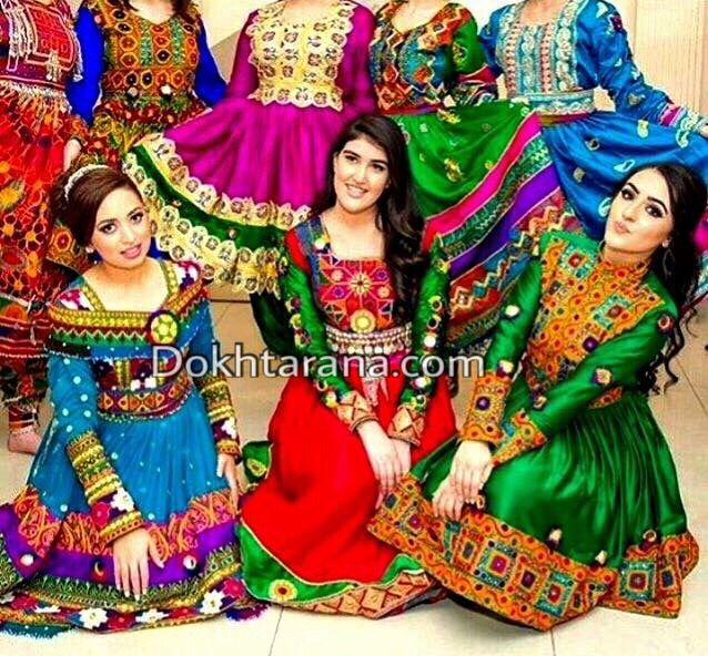 #afghan #style #dress | Afghan dress | Afghan clothes ...