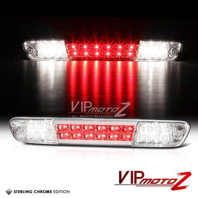 2004-2012 Chevy Colorado GMC Canyon Chrome LED Cargo Cab Third Brake Tail Lights #VIPMOTOZ