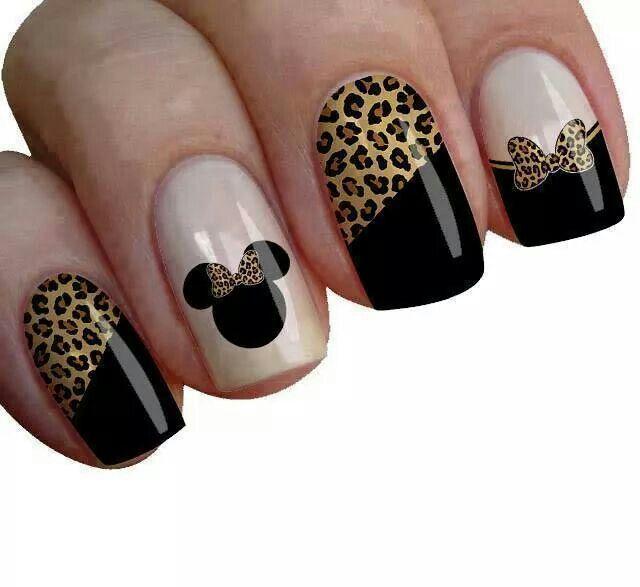 Nail Art  -  Leopard Print