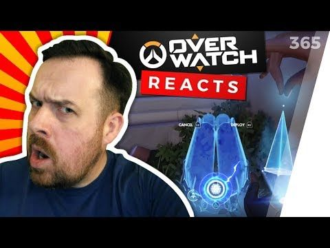 Reaction: Overwatch Funny & Epic Moments - HOW TO PLAY HANZO - Highlights Montage 168