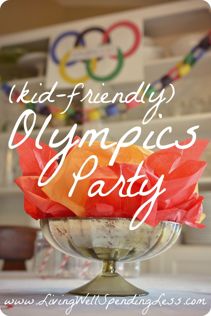 Are you ready for the next Olympics?  Don't miss these super cute ideas for a simple, kid friendly Olympics party.  The Cheetos torches & Oreo medals are adorable!