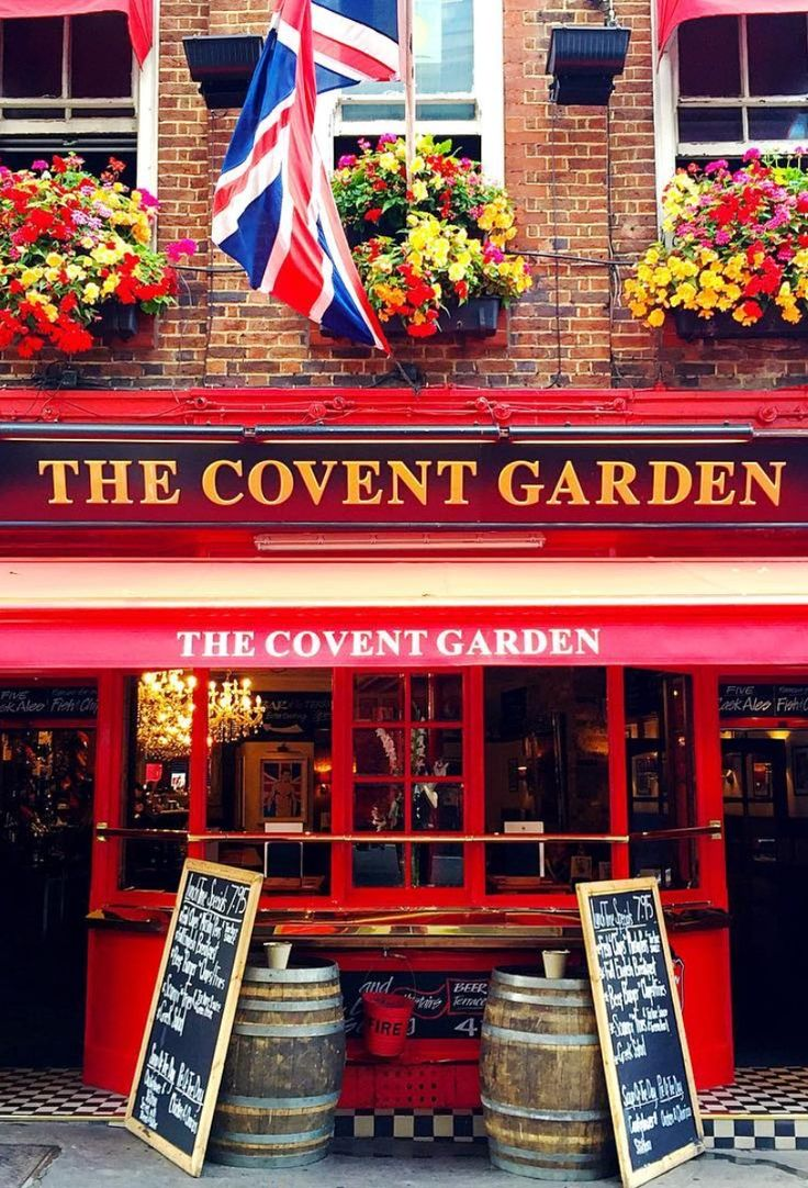 European Holidays that You Need to Have on Your Bucket List The Covent Garden Pub - London, England