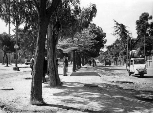 Madrid, 1971. Calle de Arturo Soria