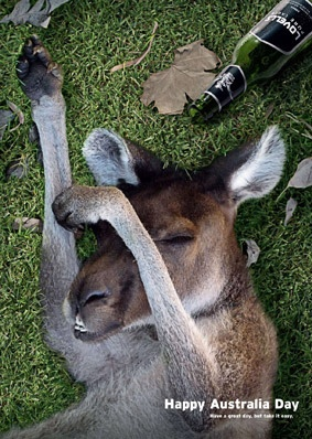 Happy Australia Day Everyone!!!!!!!!!  Have a good one ;)