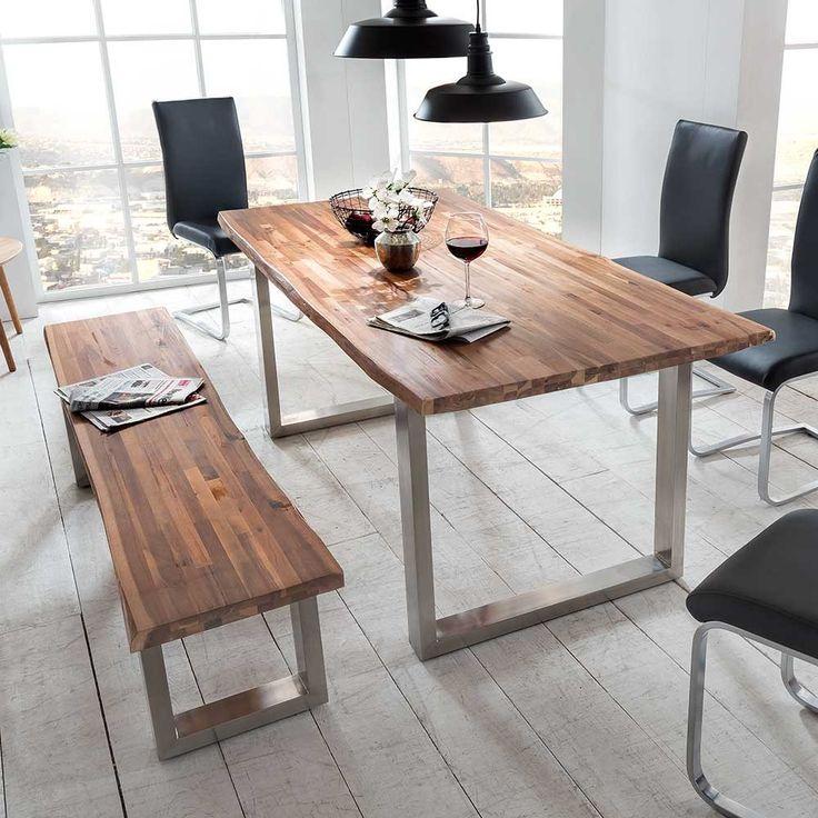 Die besten 25+ Esstisch mit bank Ideen auf Pinterest Küchentisch - esszimmer sitzbank platzsparend
