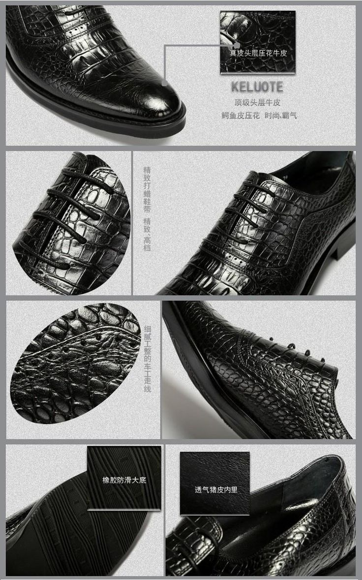 2015 New spring and autumn Men's Business England Pointed Toe full grain Crocodile Embossed Genuine leather office Shoes Oxfords