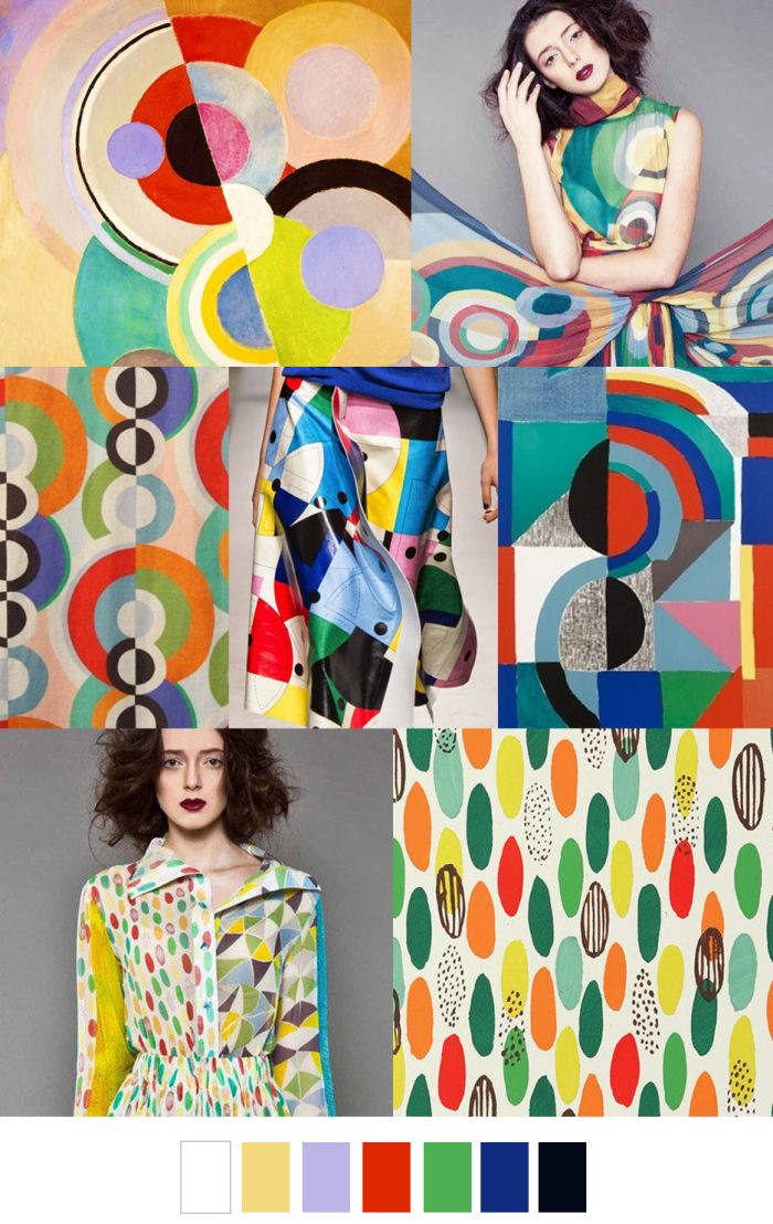 Trend- Colorful Patterned Fabric