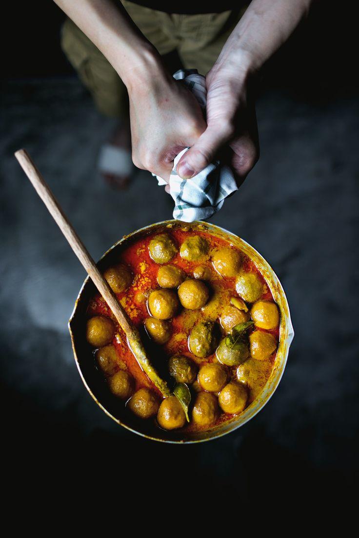 Hong Kong's curry fish balls over ramen
