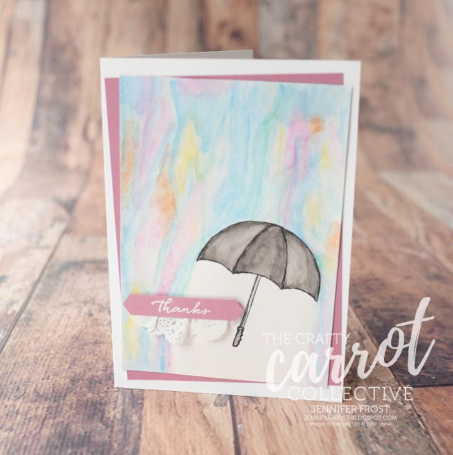 Papercraft by Jennifer Frost: Weather Together, The Crafty Carrot Co Blog Hop