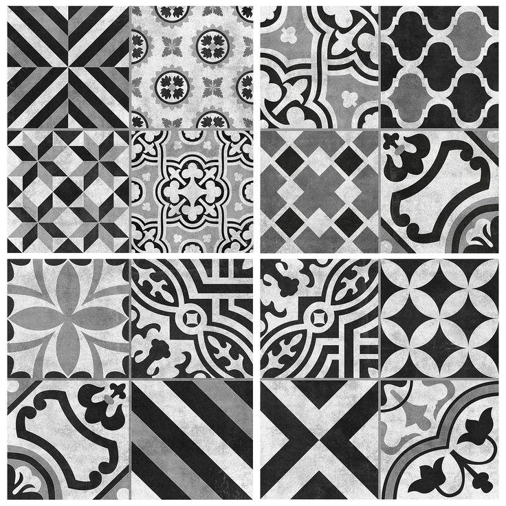 Cementine Contrast Mix Glazed | Interceramic USA