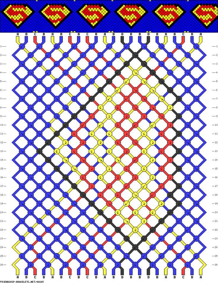 22 strings, 4 colors, 26 rows