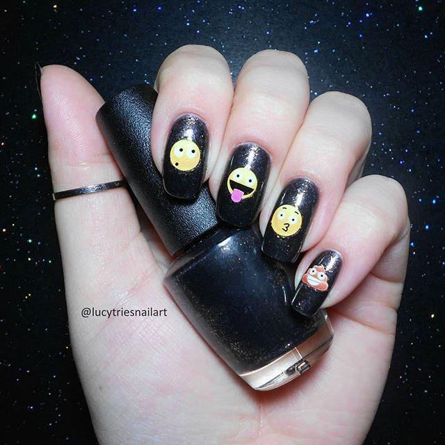 50 Eye Catching Emoji Nails To Dress Up Your Look Emoji Nails