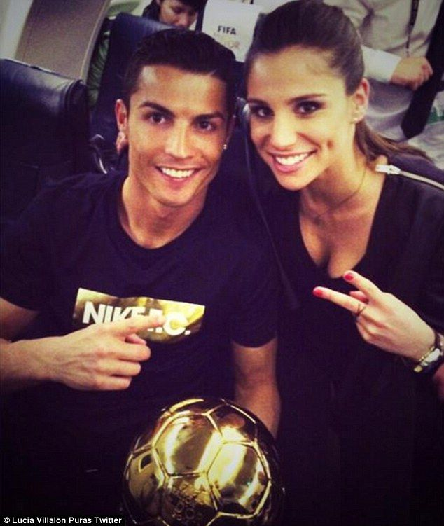 Cristiano Ronaldo is allegedly dating Spanish TV reporter Lucia Villalon after his split f...