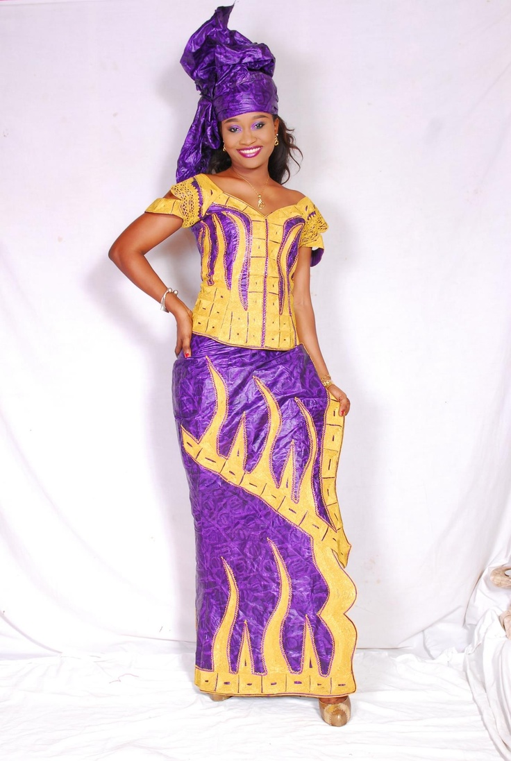 African brocade with embroidery bazin boubou pinterest Fashion embroidery designs