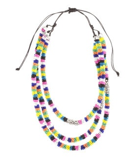Fashion Against Aids #collierBeaded Necklaces, Style, Beads Necklaces, Aid D H M, Aid Collier, Aid Ethnic, Necklaces 16, Affordable Fashion, Necklaces 1499
