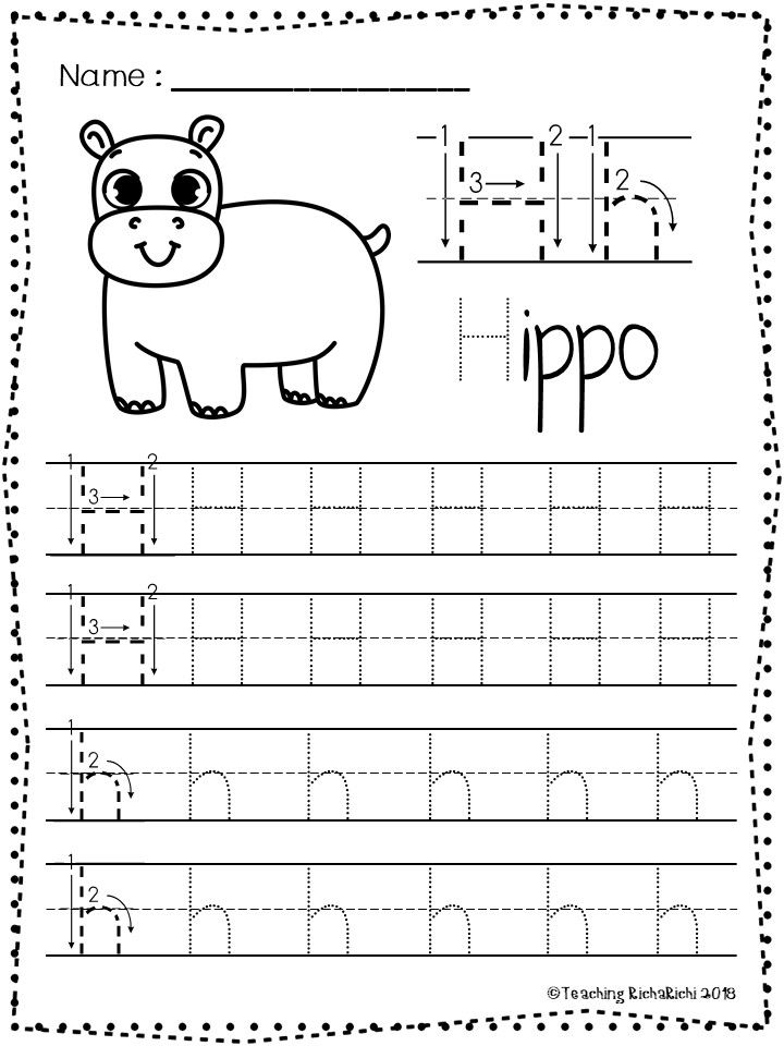 Free Abc Tracing Worksheets Alphabet A Z Upper And Lower Case Di