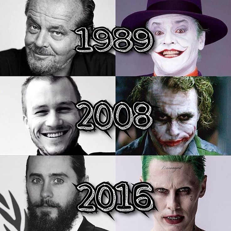 Danm it, look, its awesome!!! #thecrazyones #suicidesquad2016.....all three jokers are amazing.