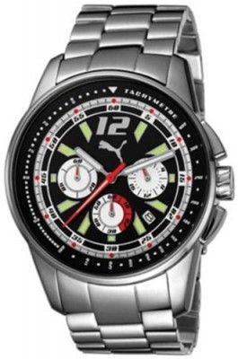 Relógio Puma Bracelets Race Chronograph Black Dial Men's watch #PU102161001 #Relogio #Puma