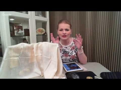 Леля Раевская Работа с водными морилками - YouTube