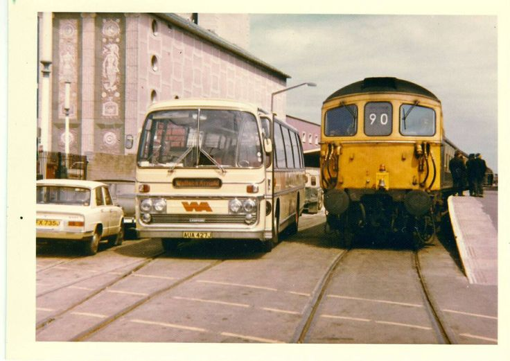 Weymouth Quay - only the tracks remain