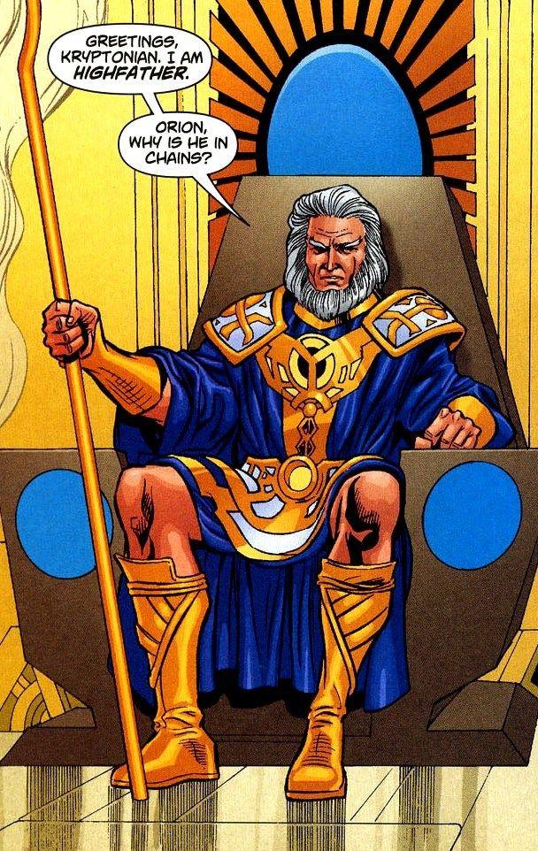 High father (Zeus)
