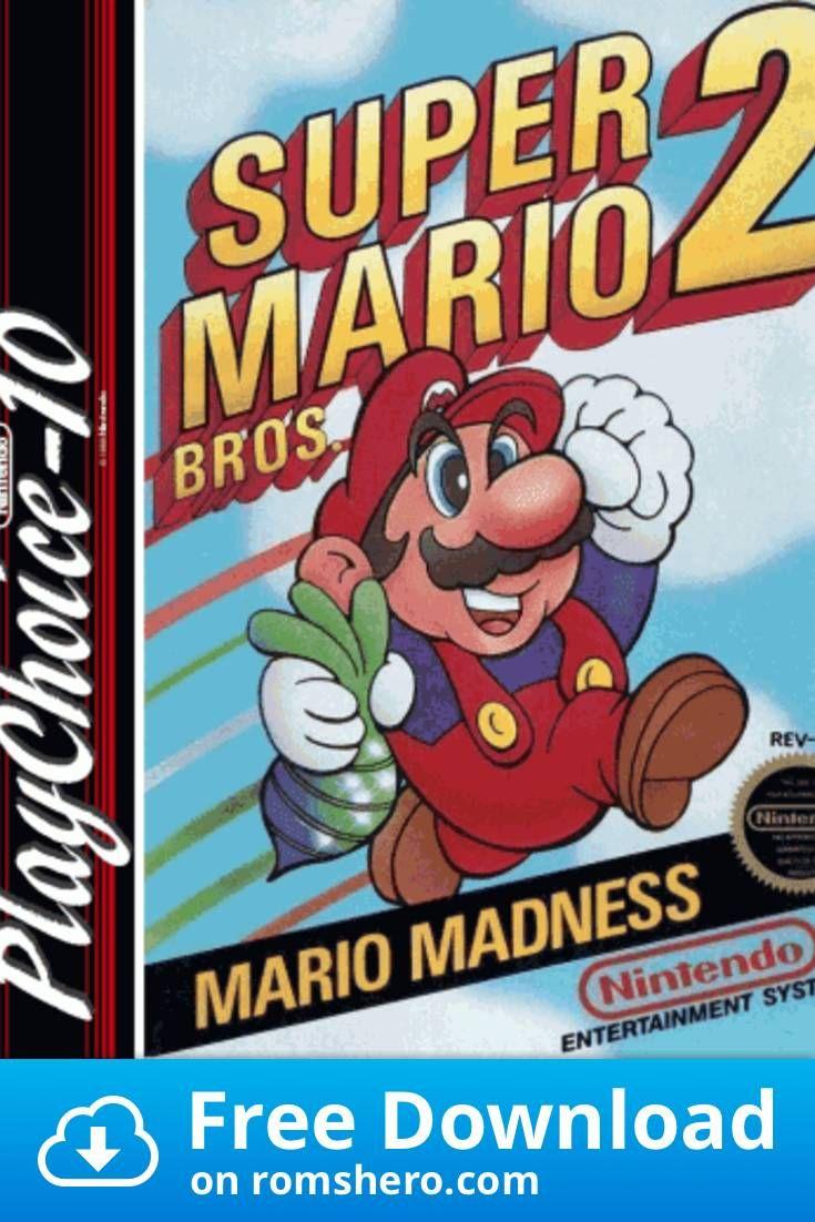 Download Super Mario Bros 2 Pc10 Nintendo Nes Rom In 2020 Super Mario Bros Mario Bros Mario Comics