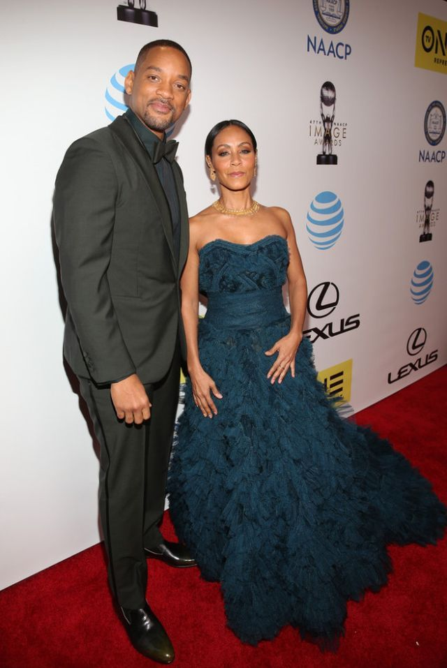 On the Scene: The 47th NAACP Image Awards with Viola Davis in a White St. John Gown, Jada Pinkett Smith in Marchesa, Tika Sumpter in Elie Saab, and More!