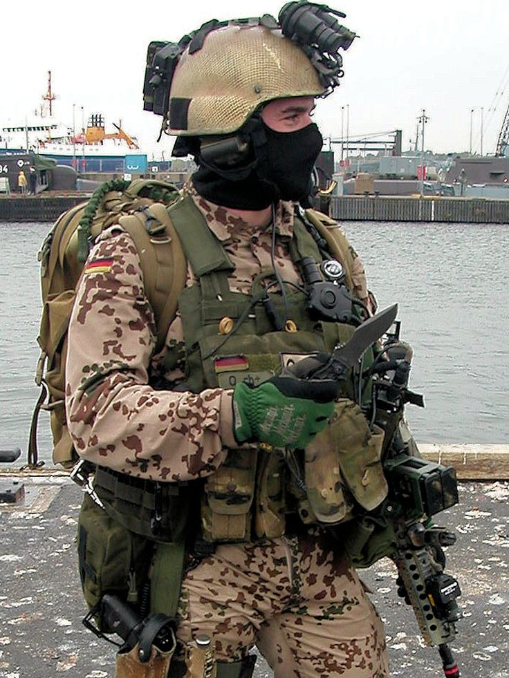 """German Navy SF Kampfschwimmer (""""Seals"""")"""