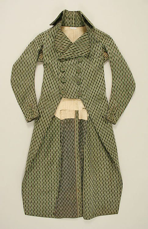 Coat 1790s The Metropolitan Museum of Art