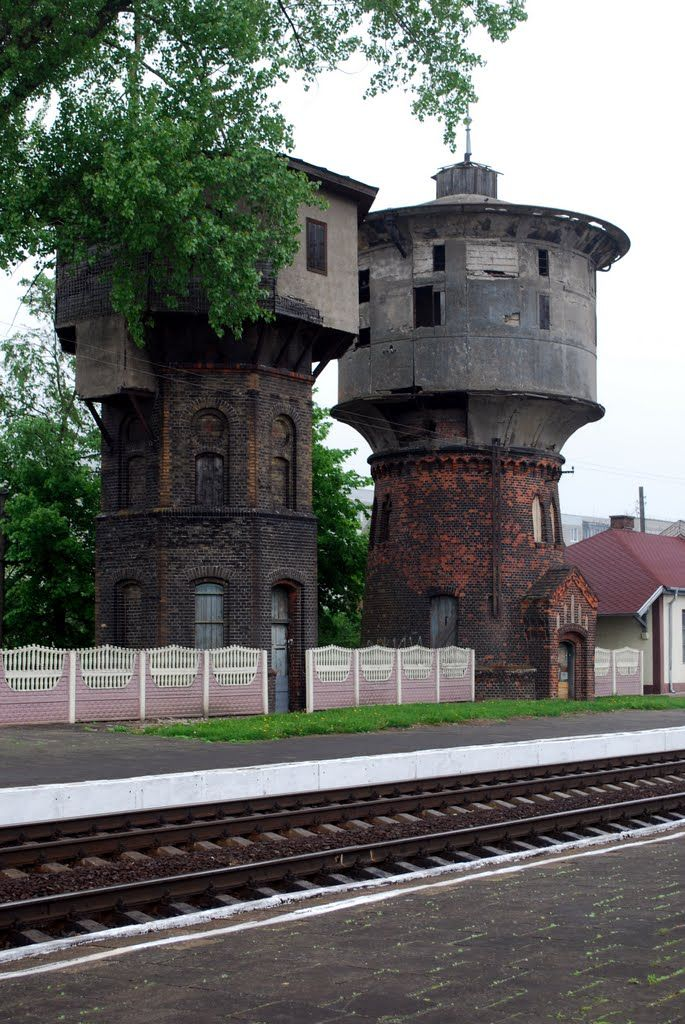 1000+ images about water towers on Pinterest | Water Tower ...