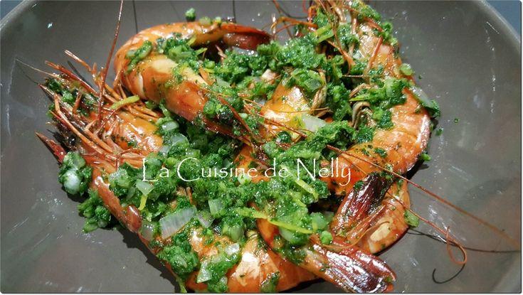 Crevettes au Four Ail Persil