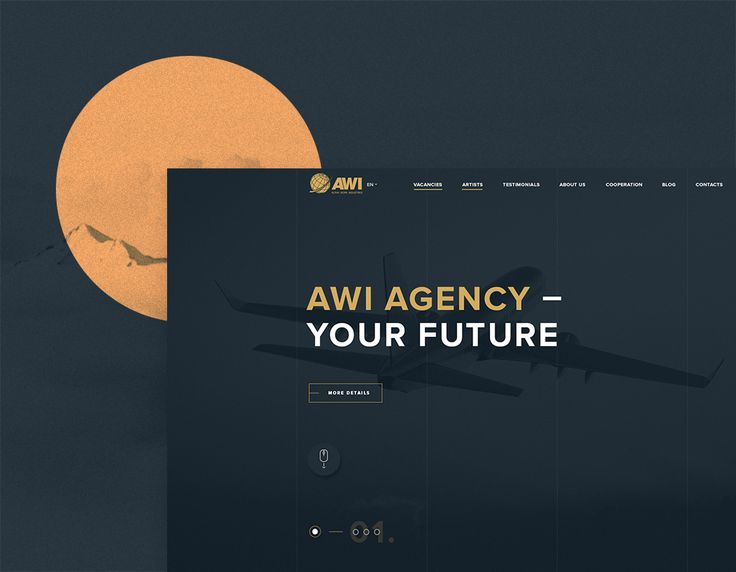 "다음 @Behance 프로젝트 확인: ""AWI Agency - Corporate website"" https://www.behance.net/gallery/41135343/AWI-Agency-Corporate-website"